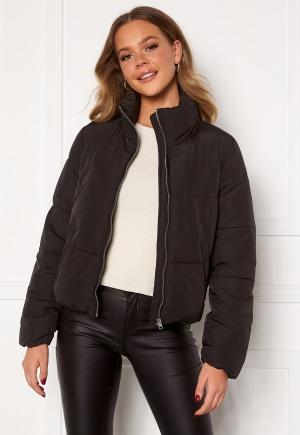 JDY NewErica Padded Jacket Black Silver zipper XL