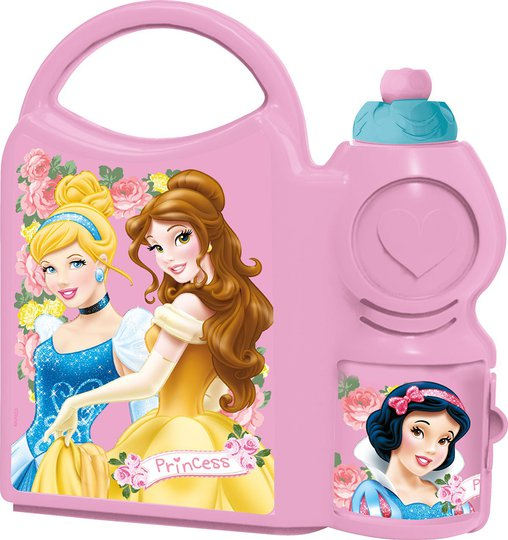 Disney Princess Matboks Og Sportflaske