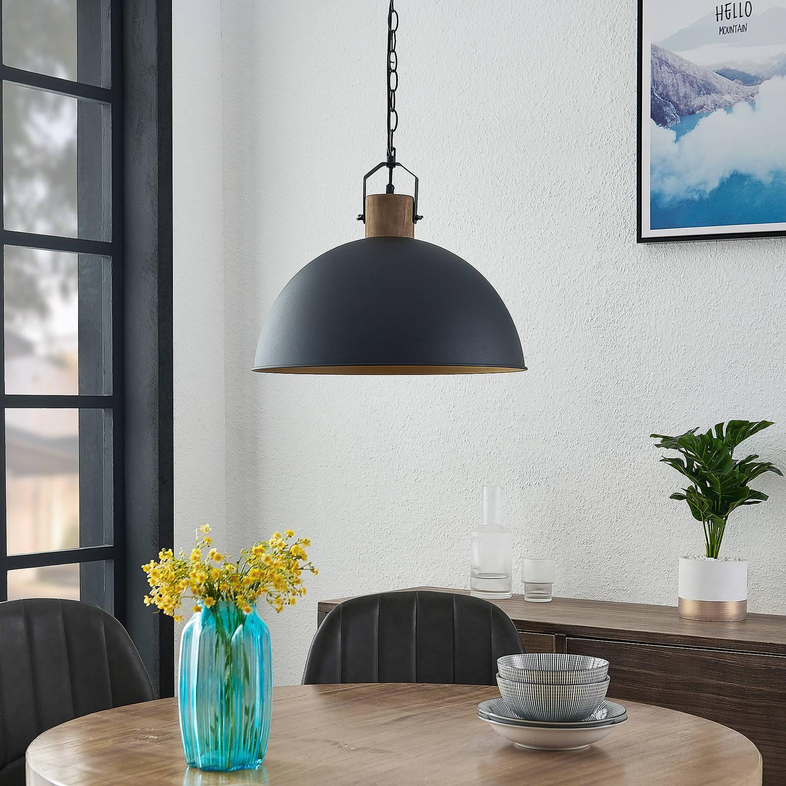 Lindby Flurin -riippuvalaisin, 1-lamppuinen