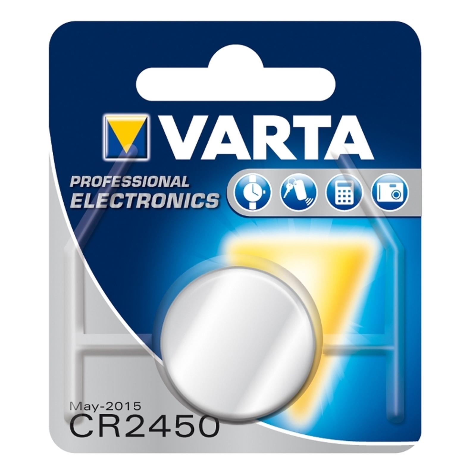 3 V litiumnappiparisto CR2450