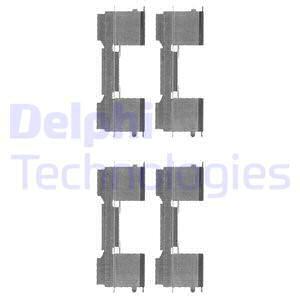 Tarvikesarja, jarrupala DELPHI LX0478