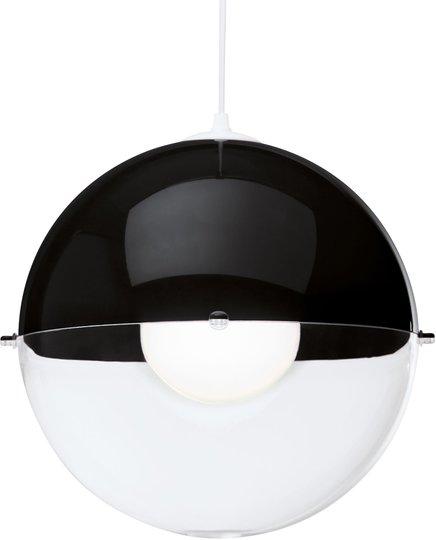 Koziol Taklampe Orion Gjennomsiktig, Svart