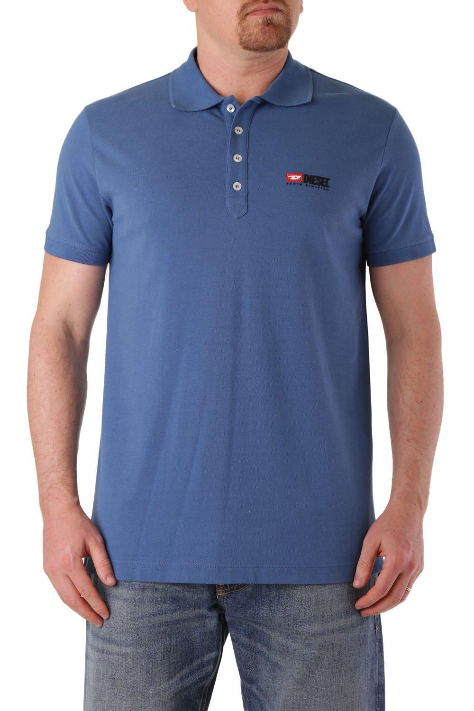 Diesel Men's Polo Shirt Various Colours 283887 - blue-2 M