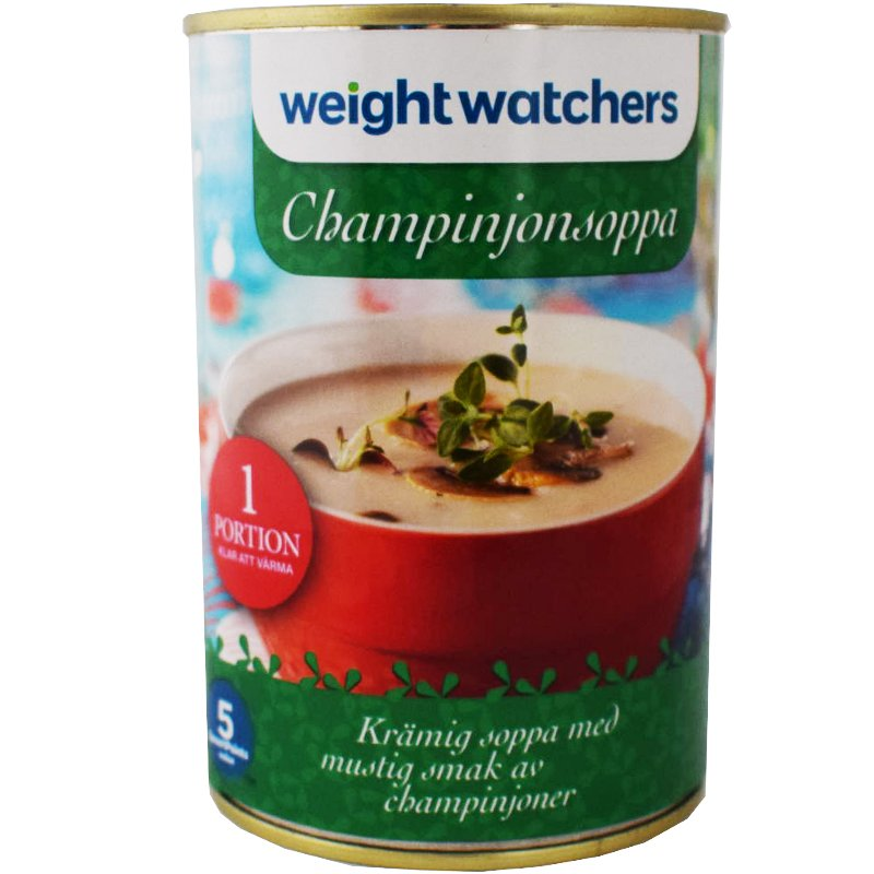 Champinjonsoppa - 16% rabatt