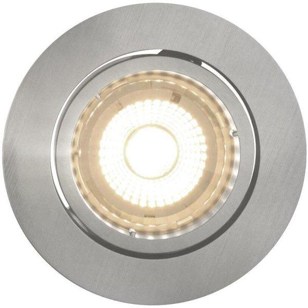 Nordlux OCTANS 49240155 Kohdevalaisin 3x4,8W LED, 2700K, IP20 Nikkeli