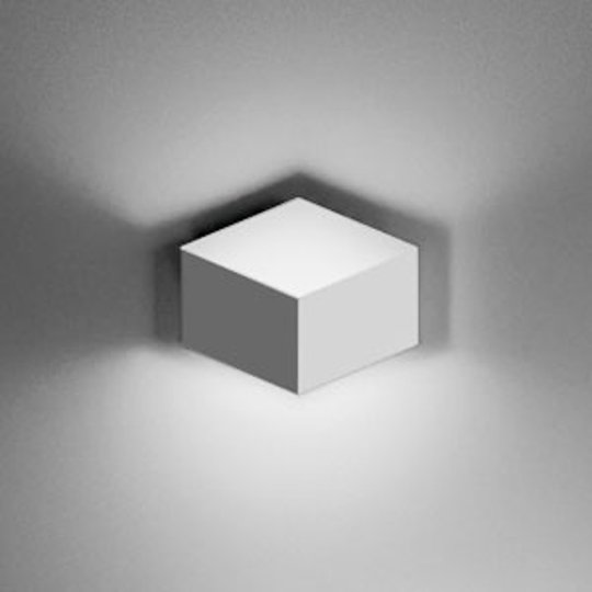 Puristinen LED-seinävalo Fold Surface 2-lamppuinen