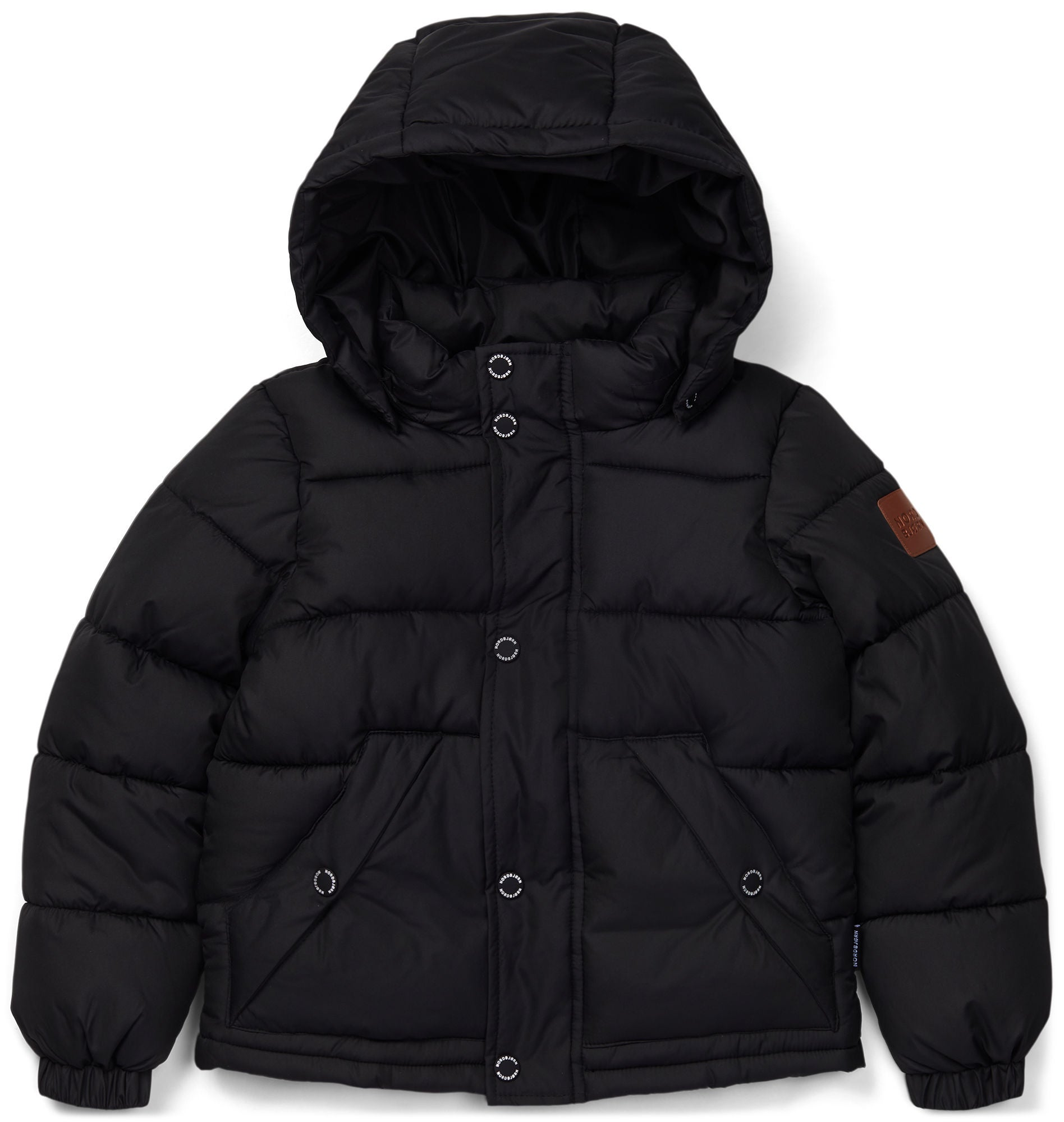 Nordbjörn Kalix Puffer Jacka, Black 120