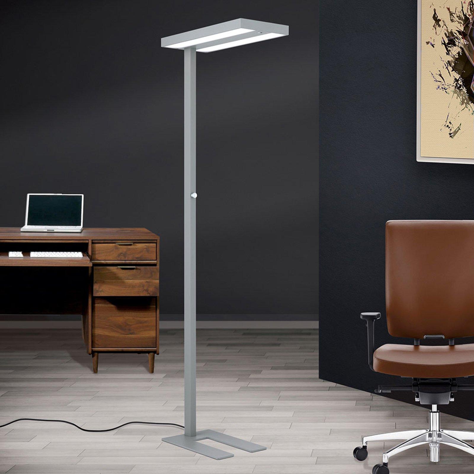 LED-gulvlampe kontor Deno dagslys-, bev.sensor