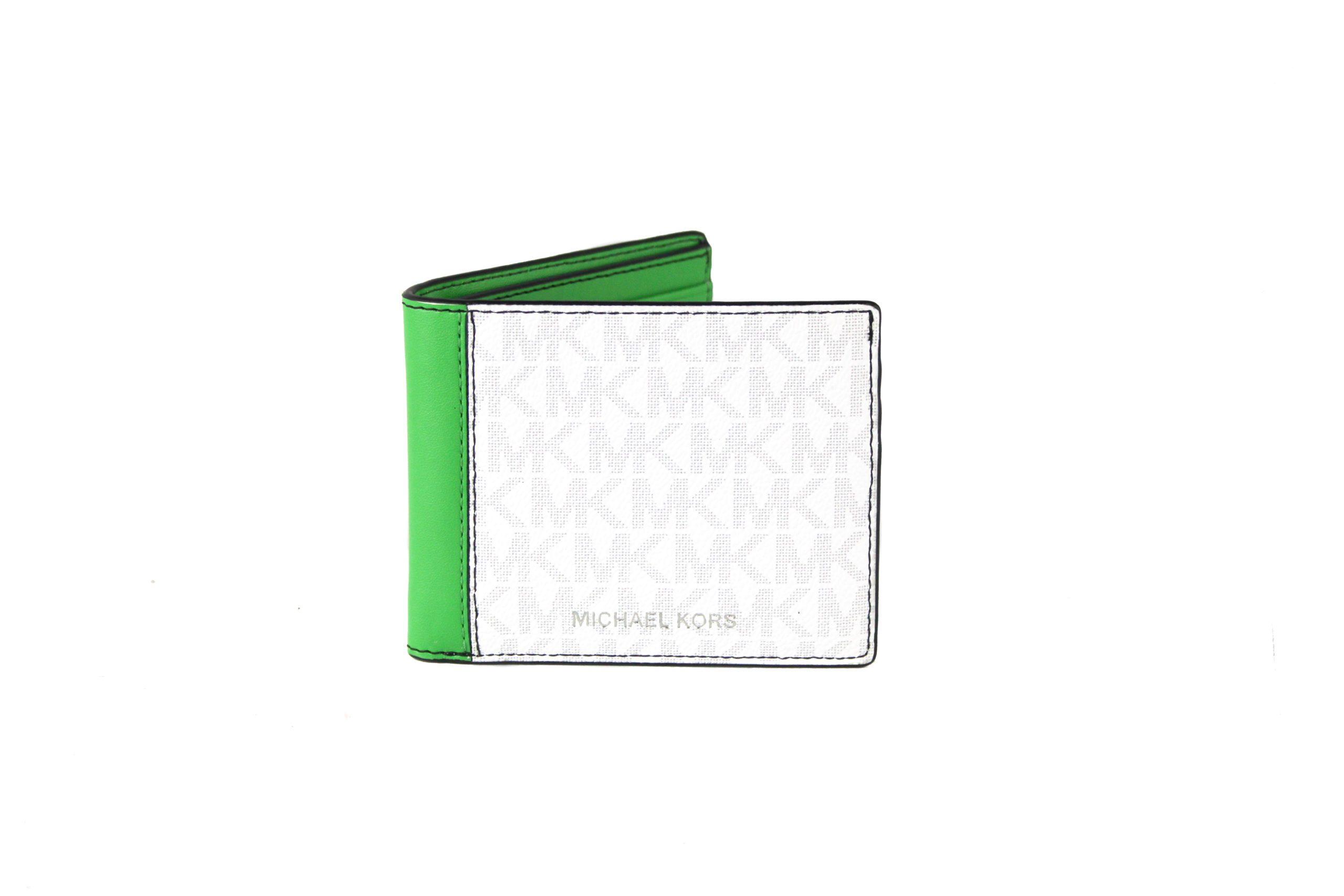 Michael Kors Men's Cooper Wallet White 63814