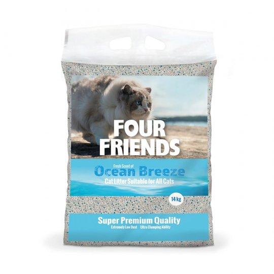 FourFriends Ocean Breeze Kattsand 14 kg