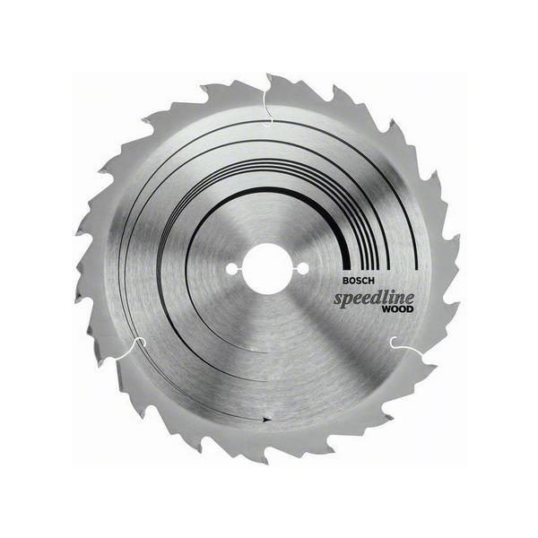 Bosch 2608640801 Speedline Wood Sagklinge 24T
