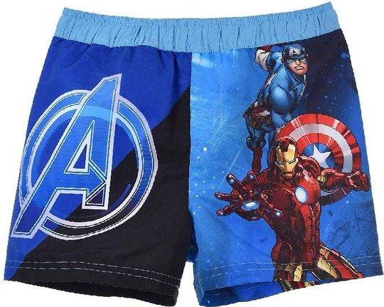 Marvel Avengers Badeshorts, Blue, 10 År