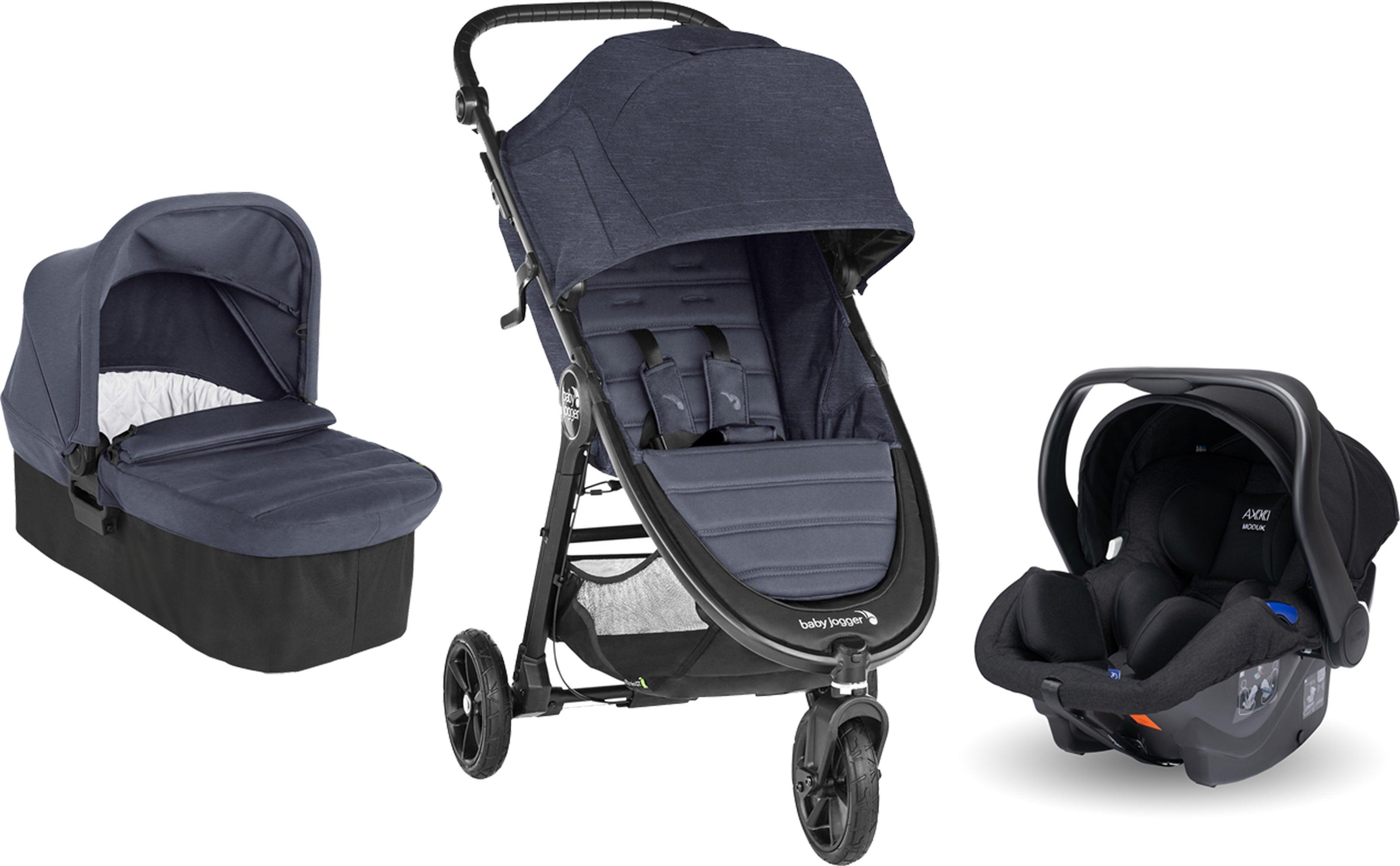 Baby Jogger City Mini GT 2 Sittvagn inkl. Babyskydd, Adapter & Liggdel, Carbon