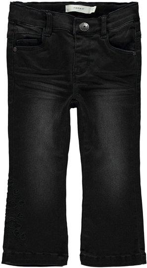 Name it Belise Bootcut Jeans, Black Denim 104