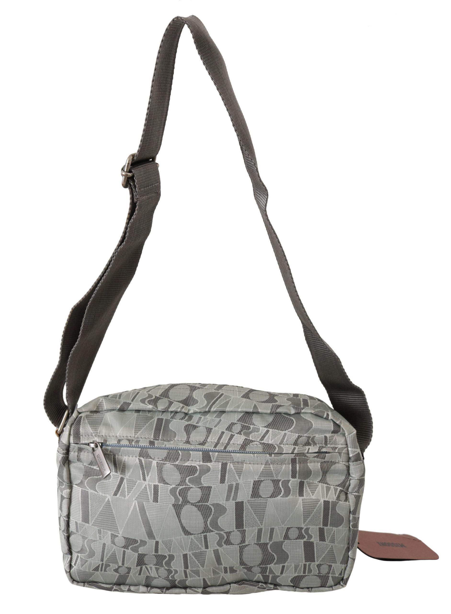 Missoni Women's Printed Sling Shoulder Bag Gray VAS9007