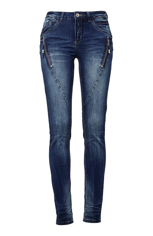 Cream Jeans Bibiana Blå