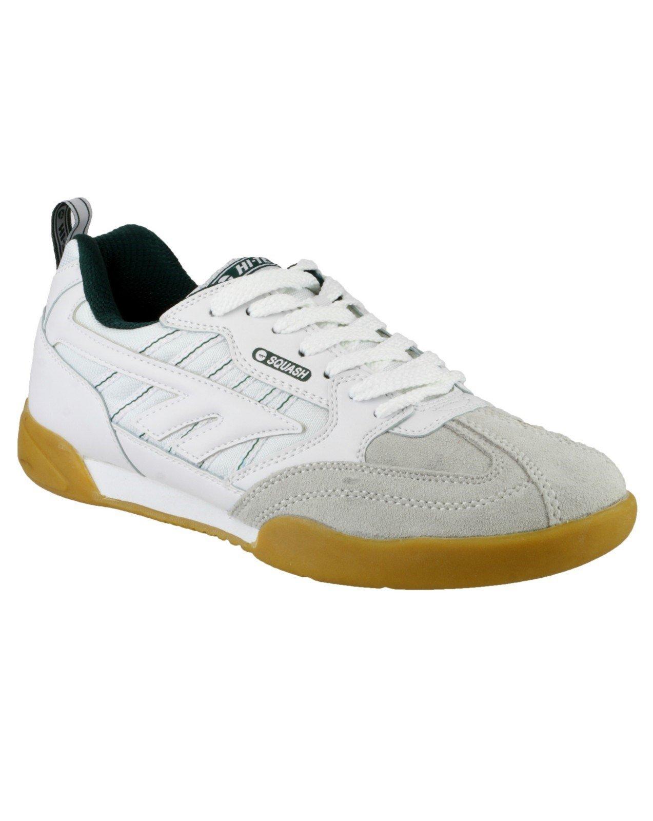 Hi-Tec Men's Squash Trainer White 00547 - White 7