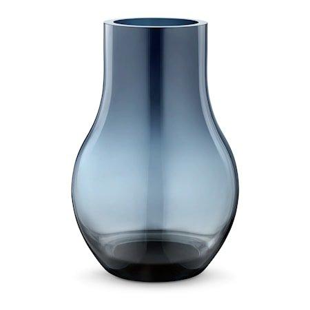Cafu Vase 30cm Blå Glass