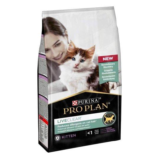 Purina Pro Plan Cat LiveClear Kitten Turkey 1,4 kg