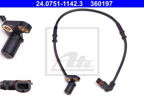 ABS-anturi ATE 24.0751-1142.3