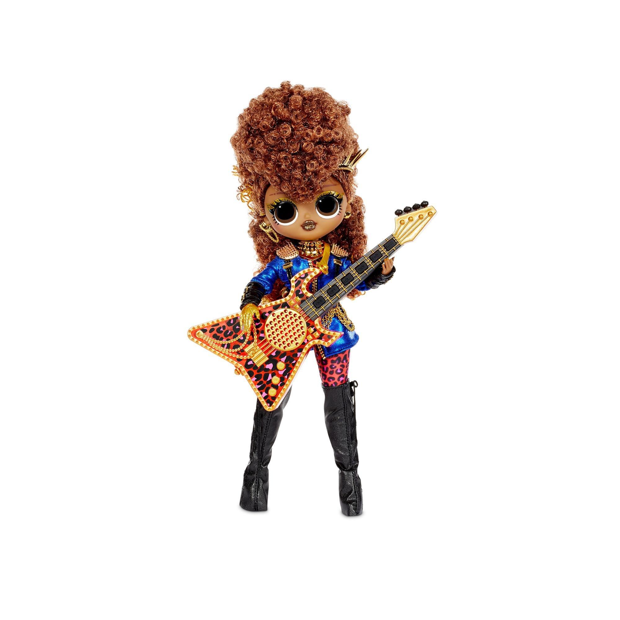 L.O.L. Surprise - OMG Remix Rock Doll - Ferocious and Bass Guitar