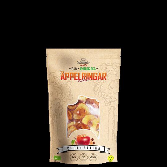Ekologiska Äppelringar Med Kanel, 50 g