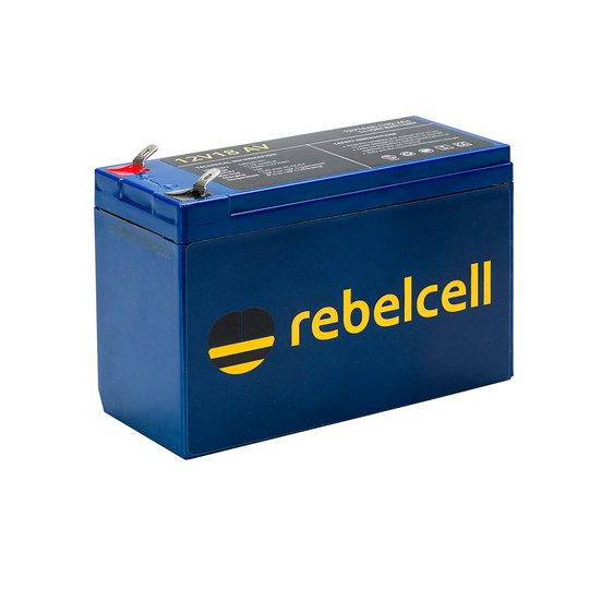 Rebelcell 12V 18 Ah litiumbatteri