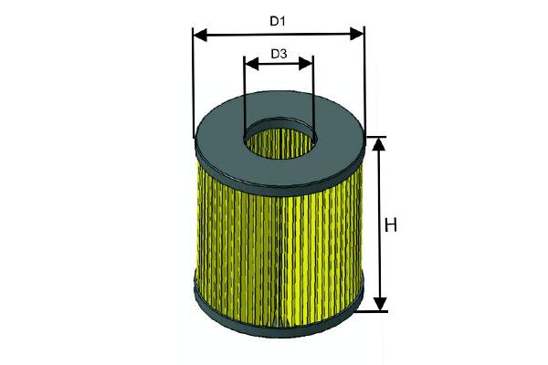 Öljynsuodatin MISFAT L143