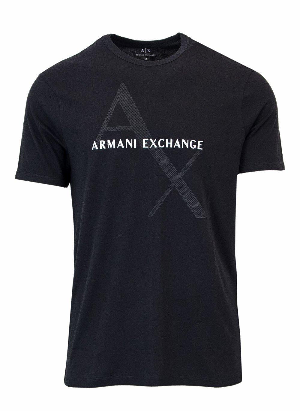 Armani Exchange Men's Polo Shirt Black 165212 - black-1 XS