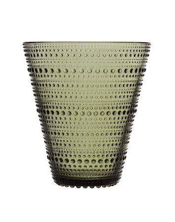 Kastehelmi Vase 15,4 cm Mosegrønn