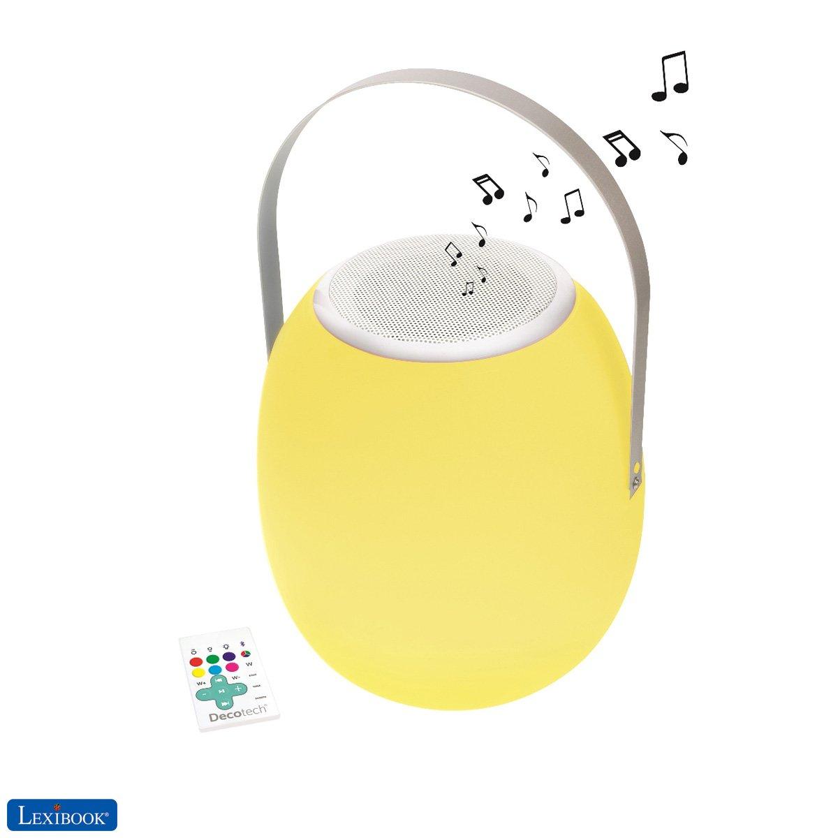 Lexibook - Bluetooth LED Technology Color Waterproof Speaker with handle (BTL710)