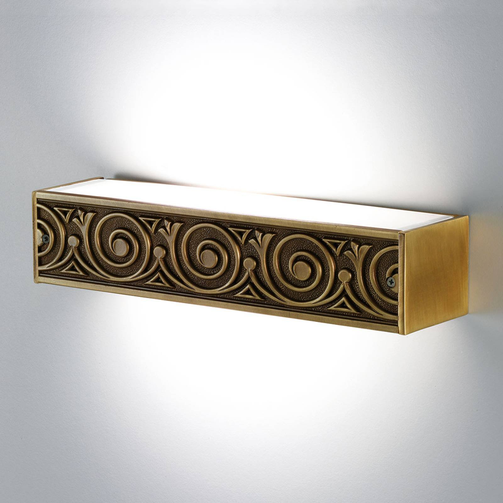 Greca vegglampe med eksklusiv dekor