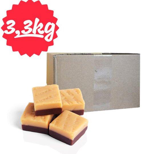Hel Låda Fudge Vanilj & Choklad 3,25kg - 67% rabatt