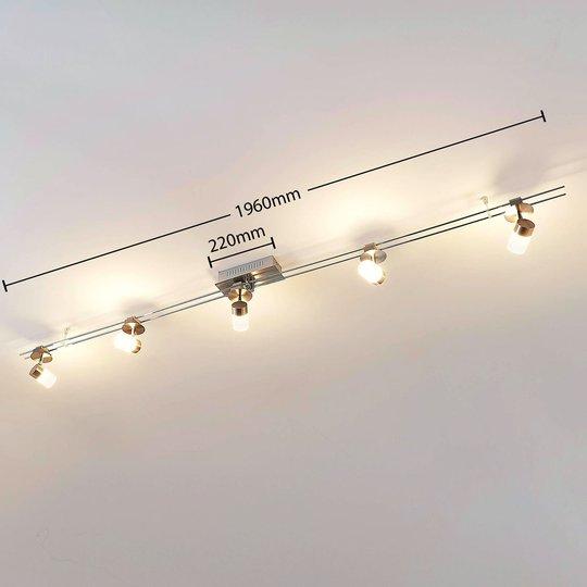 LED-kiskojärjestelmä Aronja, 5-lamppuinen