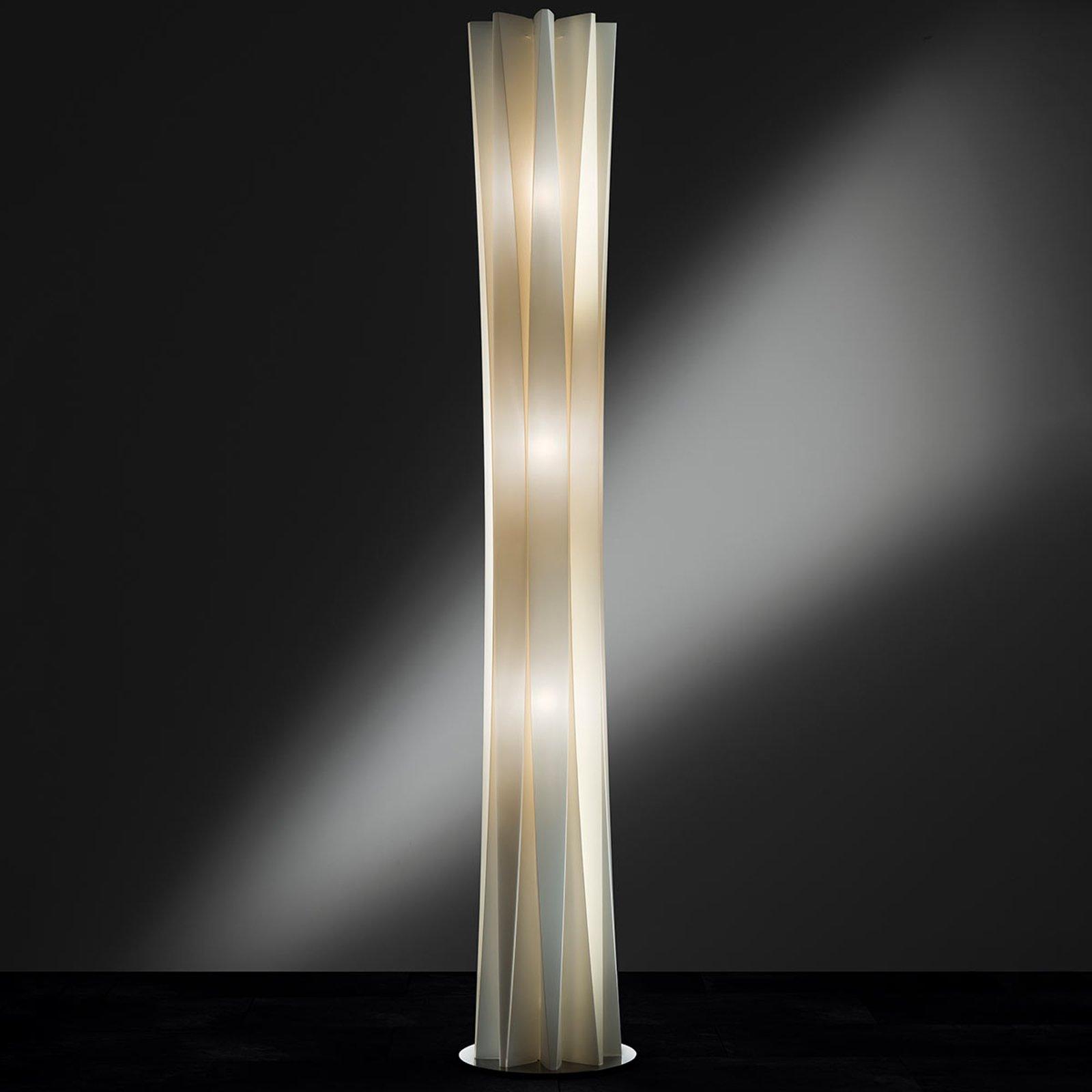 Slamp Bach, gulvlampe, høyde 184 cm, gull