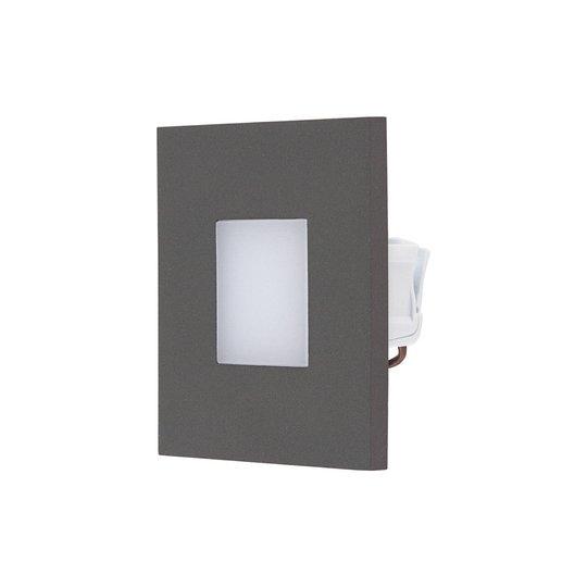 EVN LQ230 LED innfelt vegglampe direkte antrasitt