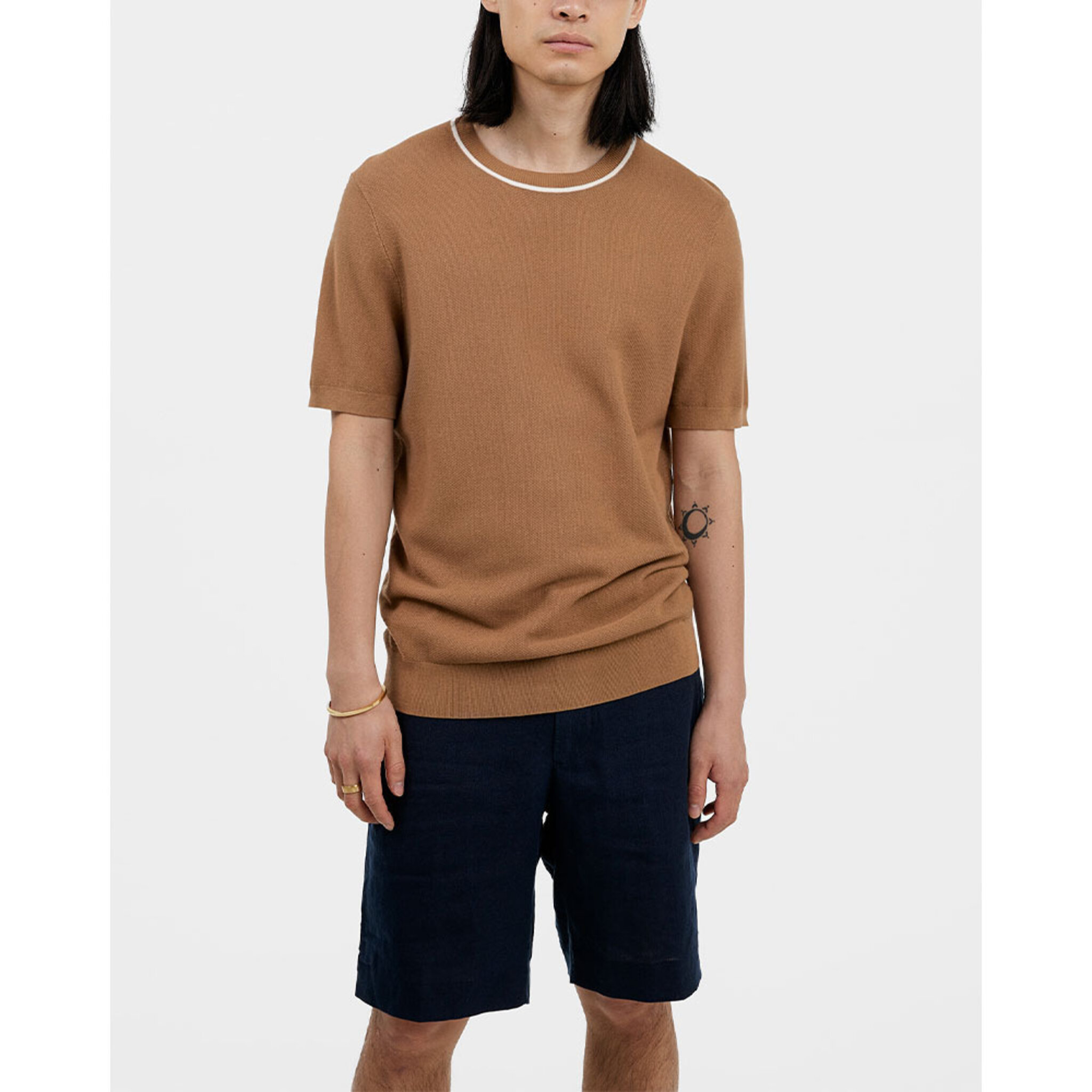 Cain Knitted Tee