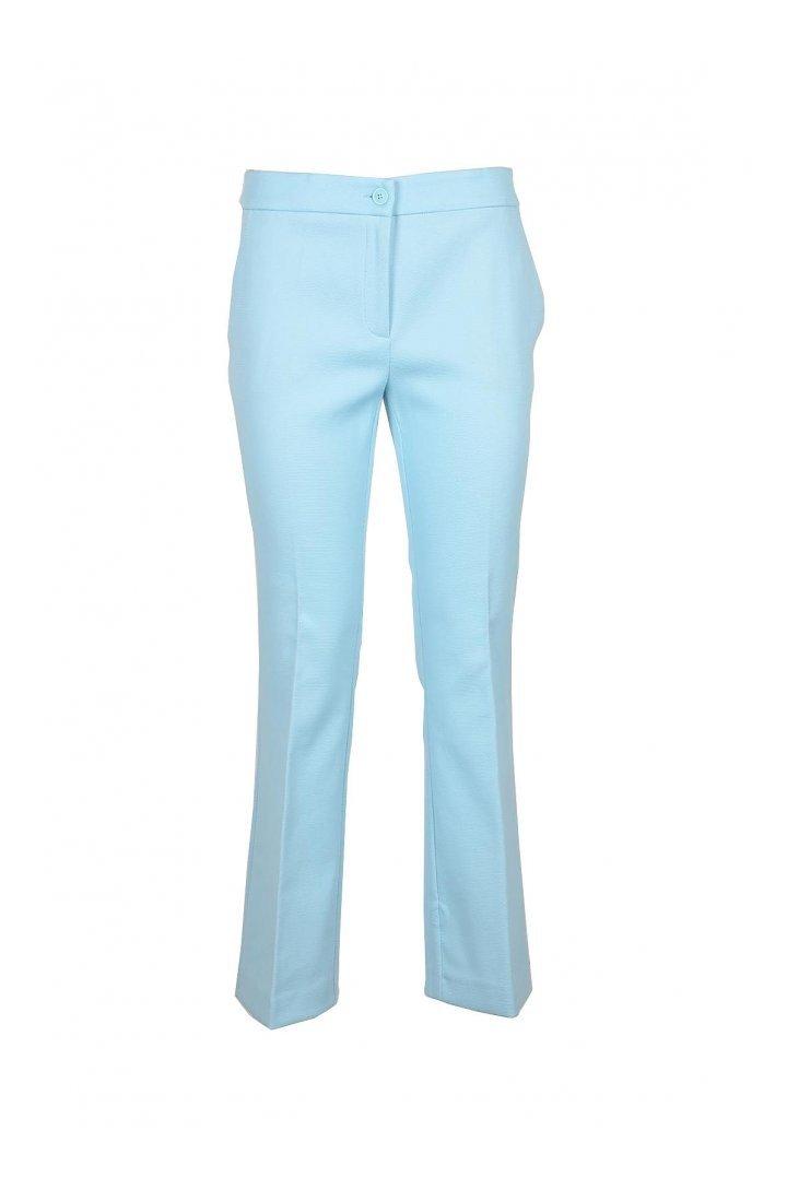 Boutique Moschino Women's Trouser Light Blue 172041 - light blue-1 44