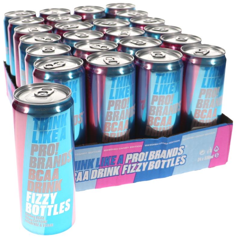 Funktionsdryck Fizzy bottles 24-pack - 50% rabatt