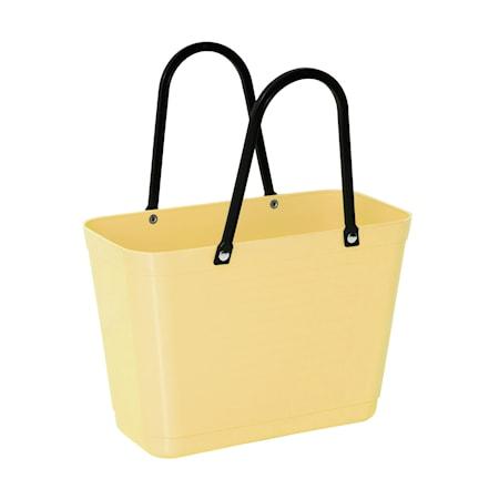 Väska Liten Green Plastic Citrongul
