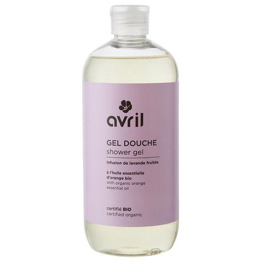 Avril Lavender & Orange Shower Gel, 500 ml