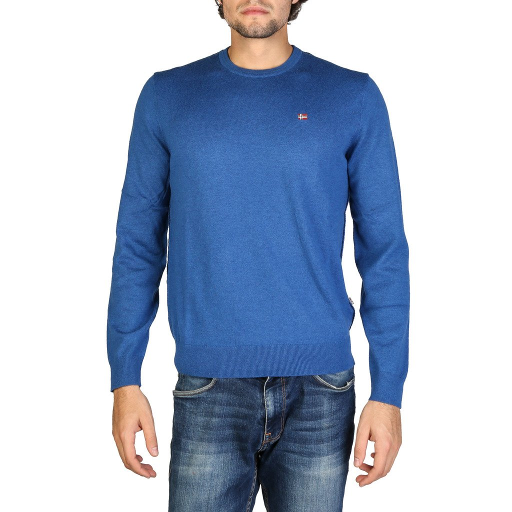 Napapijri Men's Sweater Blue N0YGPB - blue S