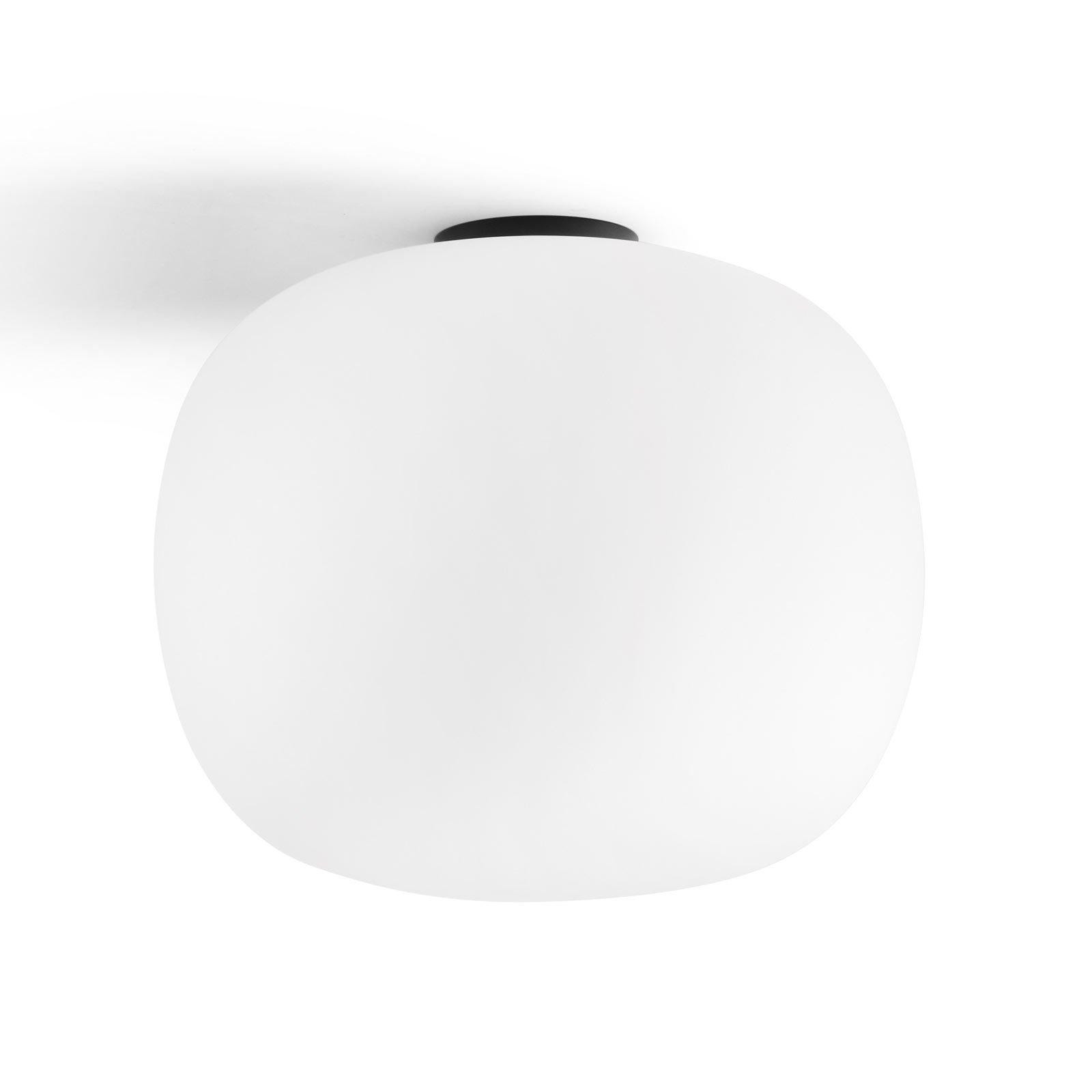 Taklampe Bombo av melkeglass Ø 19 cm