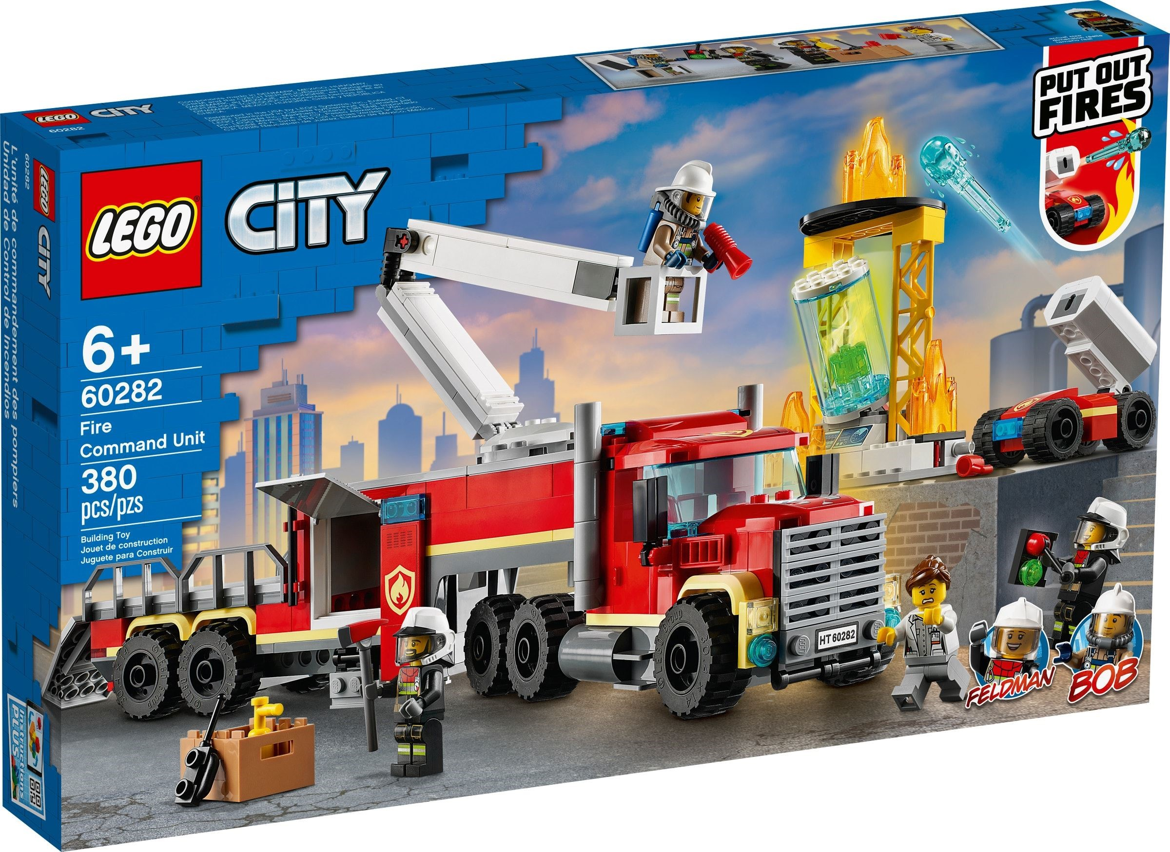 LEGO City - Fire Command Unit (60282)