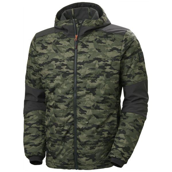 Helly Hansen Workwear Kensington Softshelljacka med huva, kamouflage XS