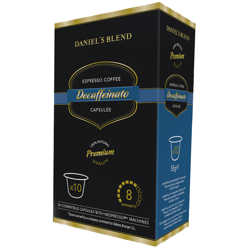 "Kaffekapslar Nespresso ""Decaffeinato"" 10-pack - 50% rabatt"