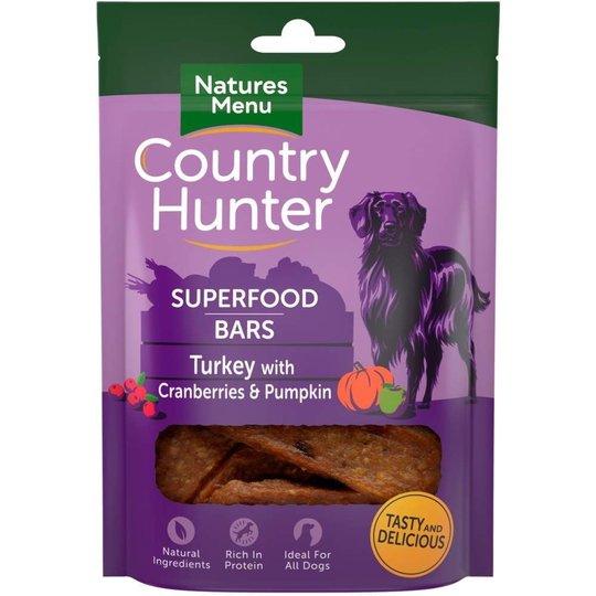 NaturesMenu Country Hunter Bar Kalkon 100g