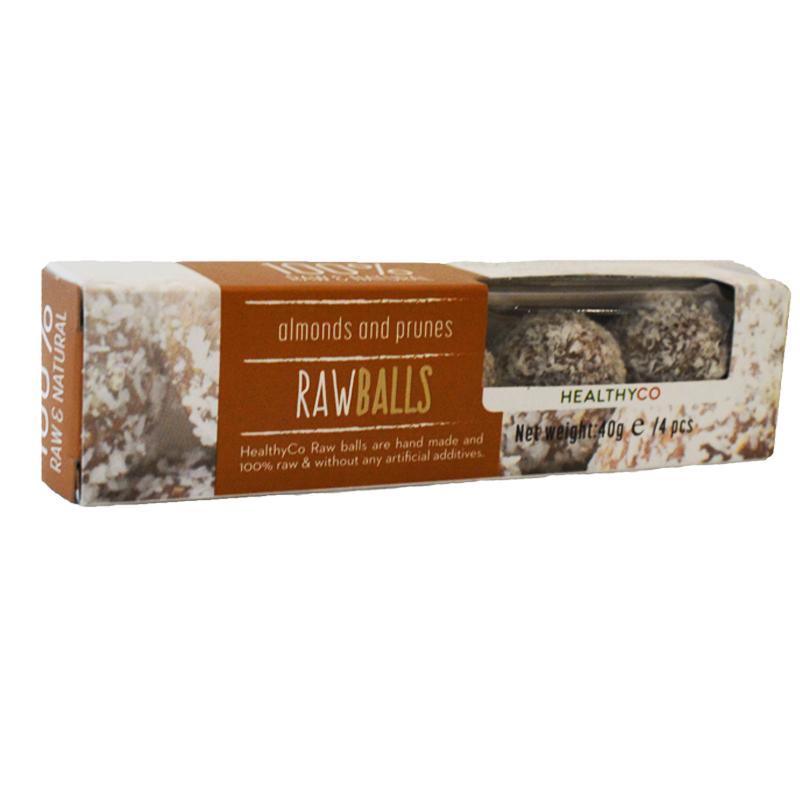 Rawballs Kokos & Mandel 40g - 60% rabatt