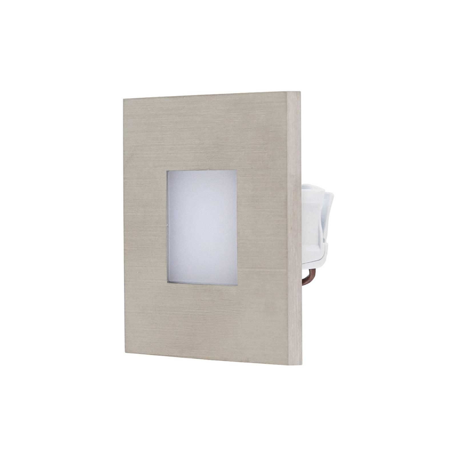 EVN LQ230 -LED-seinäuppovalaisin, teräs