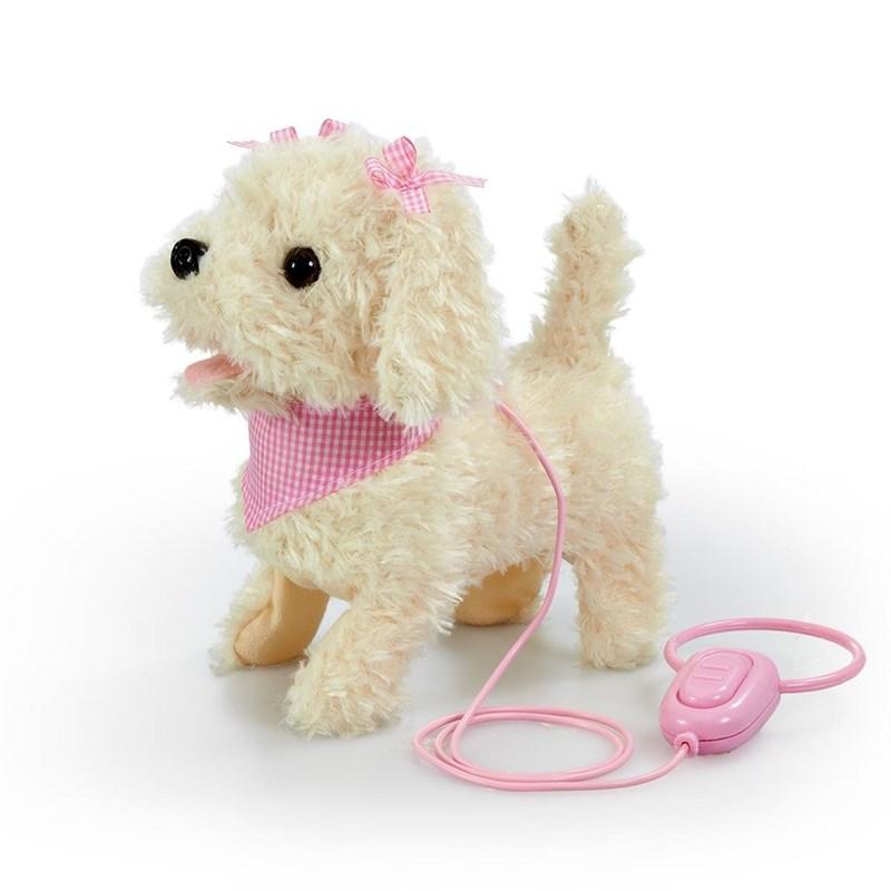 Happy Pets - Walk Along Cream Puppy (31511163)